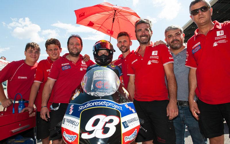 Marco Gaggi, continua l'intesa con l'S.G.M. Tecnic Racing Team per la caccia al tricolore