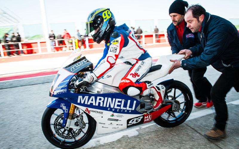 Tutto pronto a Misano per il primo start di Marco Gaggi nel CIV 2018