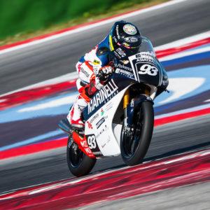 01 – Marco Gaggi – Pilota Moto 3 – European Talent Cup 2018
