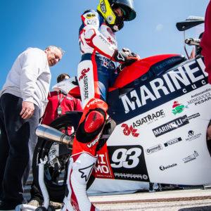 08 – Marco Gaggi – Pilota Moto 3 – European Talent Cup 2018